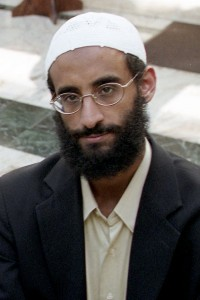 Anwar Al-Awlaki at Dar al Hijrah Mosque on October 4 2001 in Falls Church, VA. (Photo by Tracy Woodward/The Washington Post).
