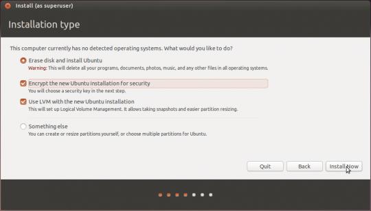 linux disk encryption