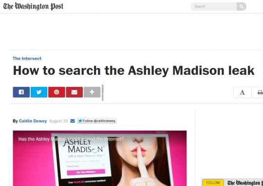 ashley madison name search